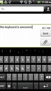 Keyboard from Android 2.3 +