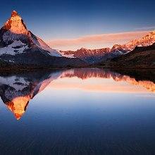 Riffelsee Switzerland Lake