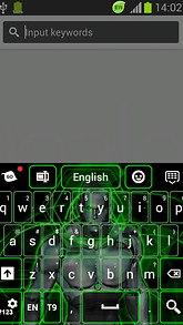 Neon Cyborg Keyboard