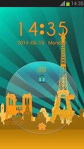 Paris Lock Screen