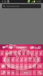 Pink Skin for Keypad