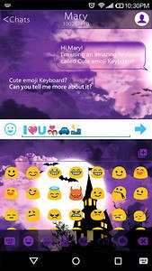Halloween Happy Emoji Keyboard