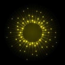 Neon Dots Yellow