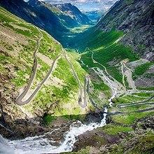 Amazing Trollstigen Mountain Road - Norway