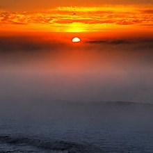 Sea Mist Sunset
