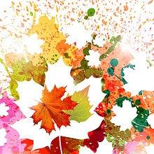 Autumn Leaves Spray