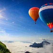 High Altitude Hot Air Balloons