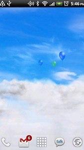 Blue Skies Free Live Wallpaper