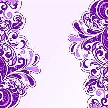 Floral Art Purple