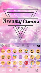 Dreamy💎Clouds Keyboard Theme