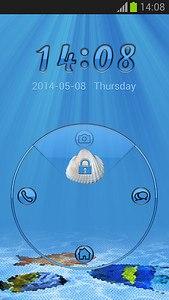 GO Locker Blue Theme
