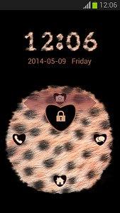 GO Locker Cheetah Print Theme