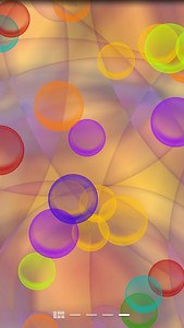 Bright Bubbles Live Wallpaper