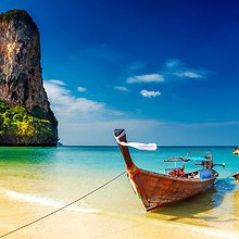 Longtail Boat Thai Beach