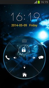 Locking Phone Out Theme
