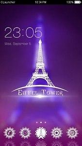 Fantastic Eiffel Tower Theme