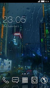 NIGHT STREET ANDROID THEME
