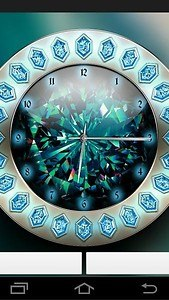 Crystal Clock Live Wallpaper