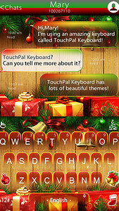 Jingle Bell & Gift Keyboard