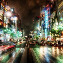 Streets Of Tokyo HDR