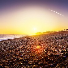 Brighton Beach Sunset England