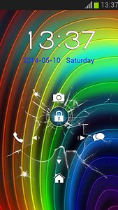 Crack My Screen Lock Theme