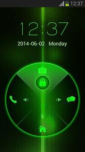 Neon Green Keylock