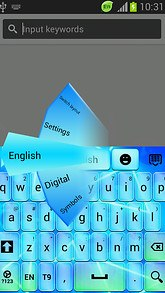 Light Keyboard Neon