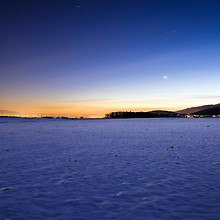 Vast Field Of Snow