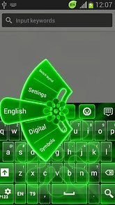 GO Keyboard Neon Green